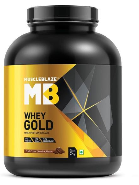Muscleblaze Whey Gold Isolate 4.4 Lbs-1766