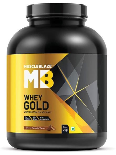 Muscleblaze Whey Gold Isolate 4.4 Lbs-2273