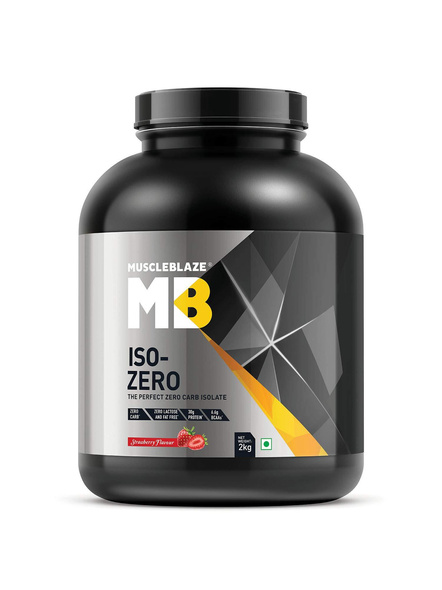 Muscleblaze Iso-zero Low Carb 100% Whey Protein Isolate 2 Kg-2172