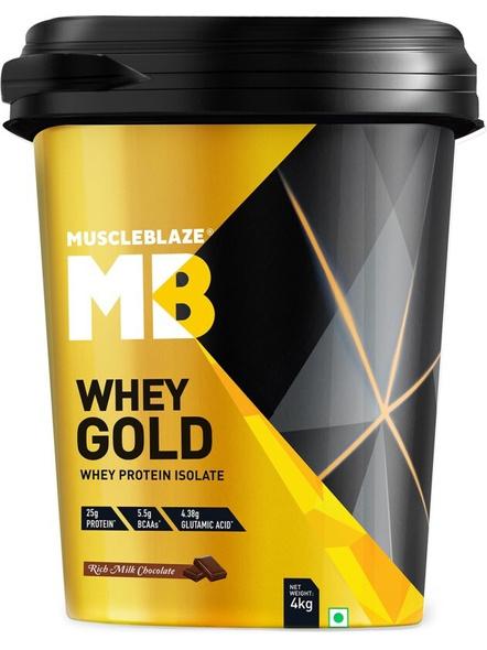 Muscleblaze Whey Gold Isolate 8.8 Lbs-1767