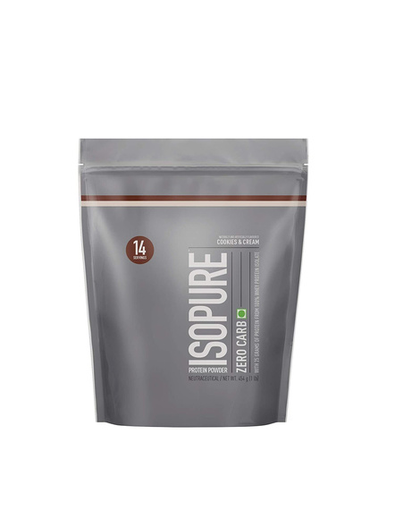Isopure 100% Whey Protein Isolate Powder 1 Lbs-1314