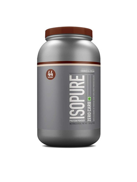 Isopure 100% Whey Protein Isolate Powder 3 Lbs-421