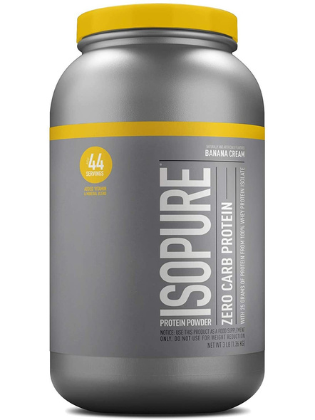 Isopure 100% Whey Protein Isolate Powder 3 Lbs-1399