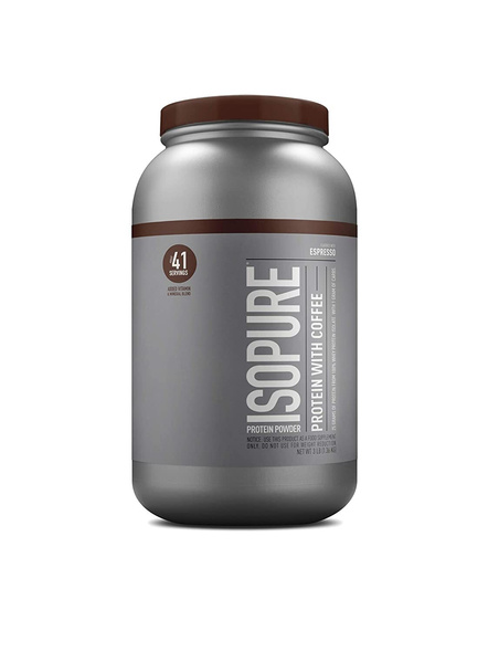 Isopure 100% Whey Protein Isolate Powder 3 Lbs-1692