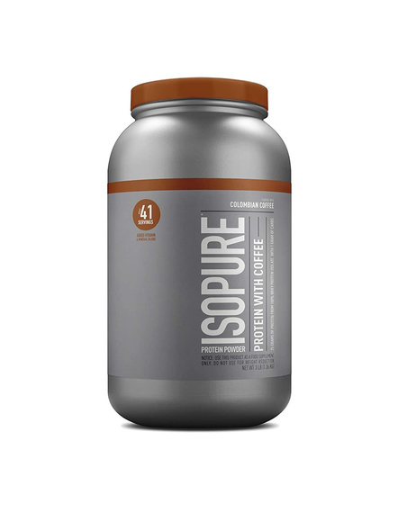 Isopure 100% Whey Protein Isolate Powder 3 Lbs-2074