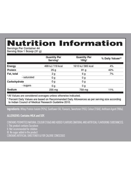 Isopure 100% Whey Protein Isolate Powder 3 Lbs-3 Lbs-MANGO PEACH-2