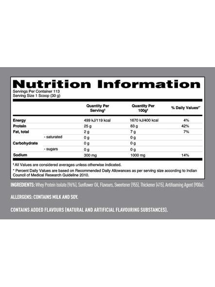 Isopure 100% Whey Protein Isolate Powder 7.5 Lbs-CREAMY VANILLA-7.5 Lbs-2