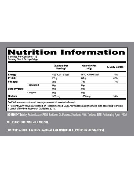 Isopure 100% Whey Protein Isolate Powder 7.5 Lbs-STRAWBERRIES AND CREAM-7.5 Lbs-2