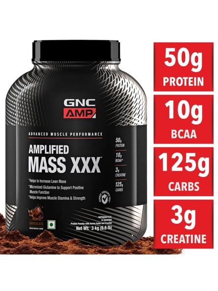 Gnc Amp Mass Xxx 3 Kg-CHOCOLATE-3 Kg-1