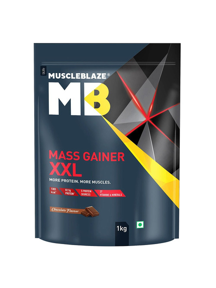 Muscleblaze Mass Gainer Xxl Mass Gainer 1 Kg-1260