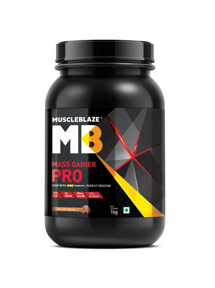 Muscleblaze Mass Gainer Pro Crepure Mass Gainer 2.2 Lbs-2226