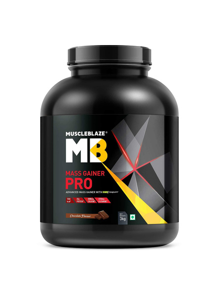 Muscleblaze Mass Gainer Pro Crepure Mass Gainer 6 Lbs-1575