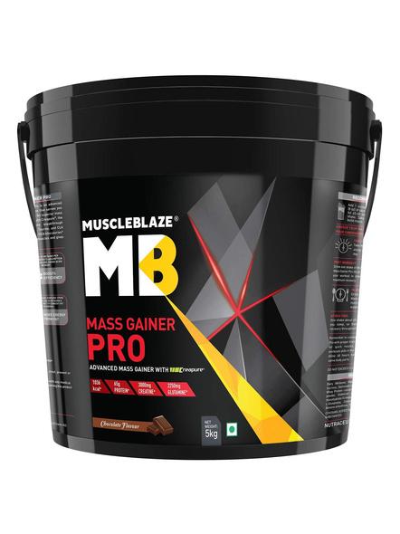 Muscleblaze Mass Gainer Pro Crepure Mass Gainer 11 Lbs-2036