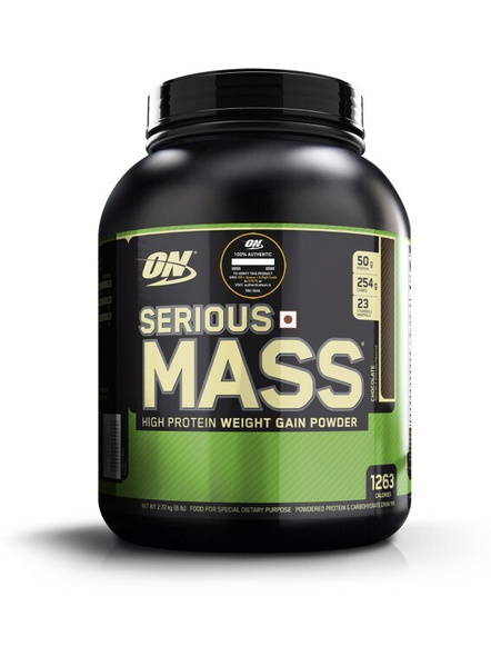Optimum Nutrition Serious Mass Weight Gainers/mass Gainers 6 Lbs-293