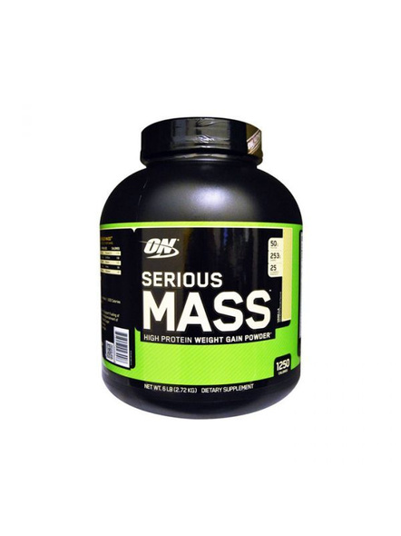 Optimum Nutrition Serious Mass Weight Gainers/mass Gainers 6 Lbs-29396