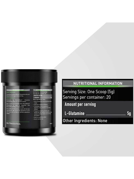 Muscleblaze Micronized Glutamine Muscle Recovery 0.22 Lbs-UNFLAVORED-0.22 Lbs-2
