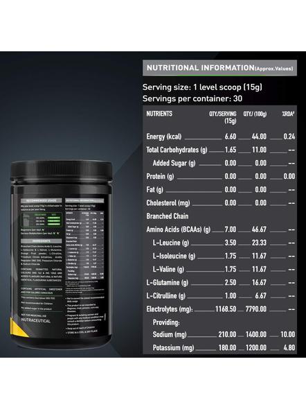 Muscleblaze Bcaa Pro 0.99 Lb Muscle Recovery-WATERMELON-0.99 Lbs-1