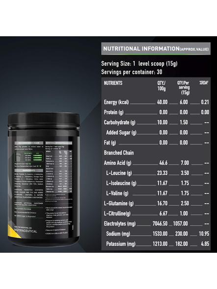 Muscleblaze Bcaa Pro 0.99 Lb Muscle Recovery-BLUEBERRY LEMON-0.99 Lbs-1