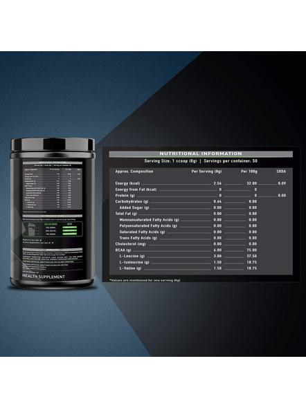 Muscleblaze Bcaa 6000 400 G Muscle Recovery-ORANGE-400 g-1