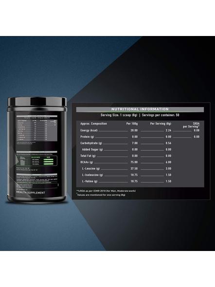 Muscleblaze Bcaa 6000 400 G Muscle Recovery-WATERMELON-400 g-1