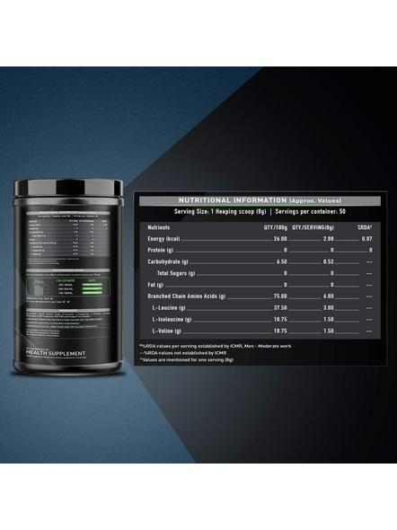 Muscleblaze Bcaa 6000 400 G Muscle Recovery-PINEAPPLE-400 g-1