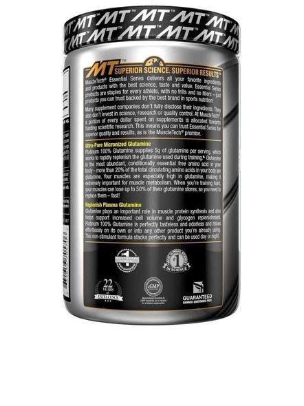 Muscletech Essential Series Platinum 100% Glutamine - 300g-NA-300 g-2