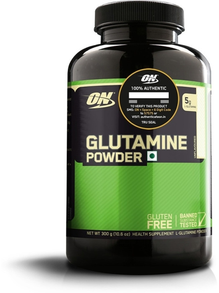 Optimum Nutrition Glutamine Powdered Supplement 300 G (unflavored)-1077