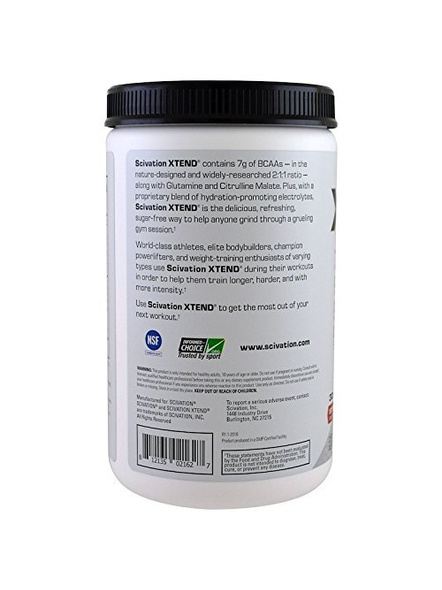 Scivation Xtend Bcaas Muscle Recovery 414 g-390 g-STRAWBERRY MANGO-2