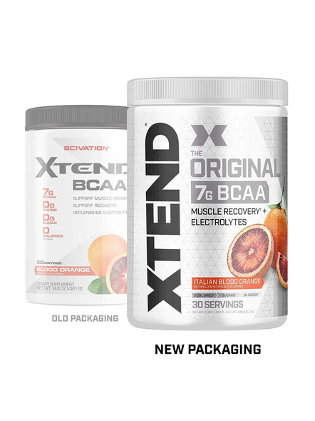 Scivation Xtend Bcaas New Muscle Recovery 390 g-BLOOD ORANGE-423 g-1