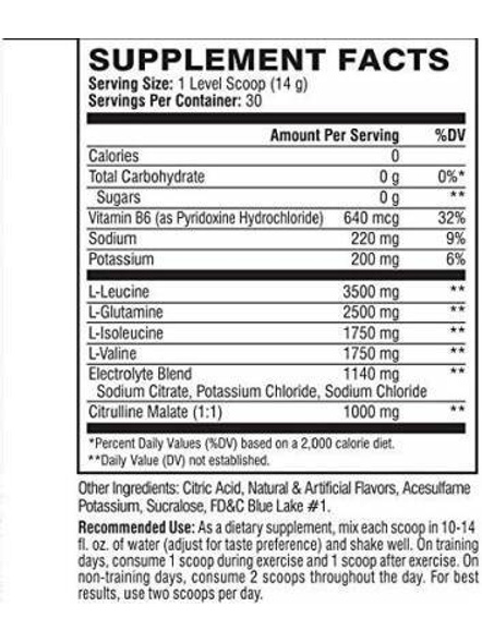 Scivation Xtend Bcaas New Muscle Recovery 390 g-405 g-GLACIAL GRAPE-1