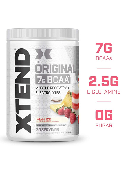 Scivation Xtend Bcaas New Muscle Recovery 390 g-6669