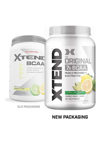 Scivation Xtend Bcaas New Muscle Recovery 1220 g-1260 g-LEMON LIME SQUEEZE-2