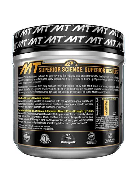 Muscletech Essential Series Platinum Creatine (5g Creatine, 80 Servings) – 400g-NA-400 g-2