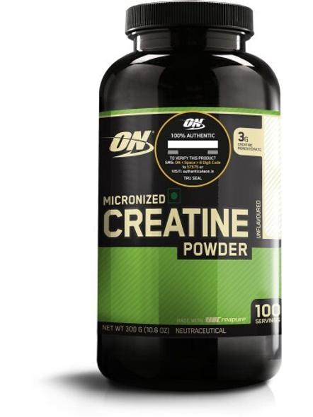 Optimum Nutrition Micronized Creatine Powdered Supplement 300 G (unflavored)-206