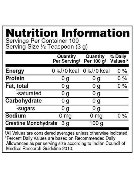 Optimum Nutrition Micronized Creatine Powdered Supplement 300 G (unflavored)-UNFLAVORED-2