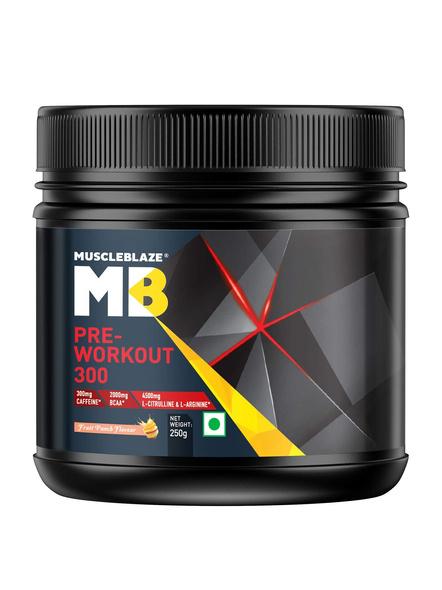 Muscleblaze Pre Workout 300 0.55 Lbs-1337
