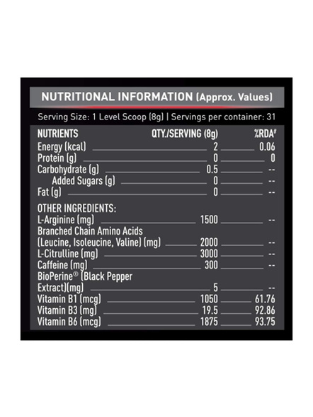 Muscleblaze Pre Workout 300 0.55 Lbs-GREEN APPLE-0.55 Lbs-2