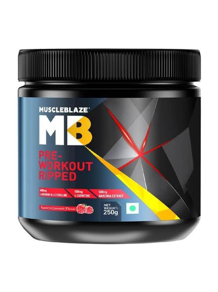 Muscleblaze Pre Workout Ripped 0.55 Lb-1821