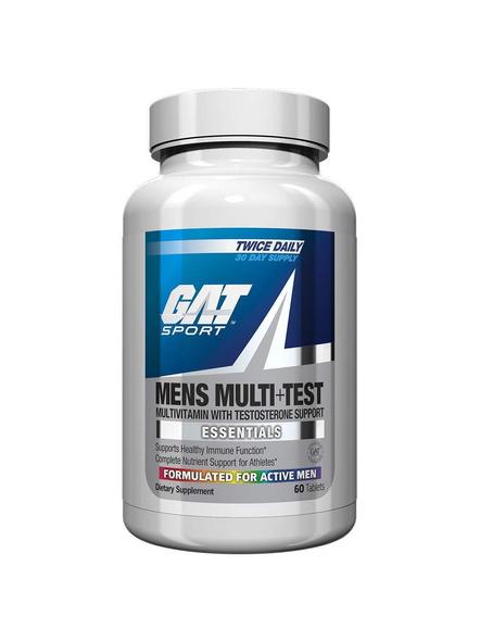 Gat Multivitamin+test Minerals And Multivitamins 60 Tab-5605