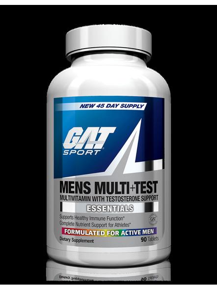 Gat Multivitamin+test Minerals And Multivitamins 60 Tab-6456