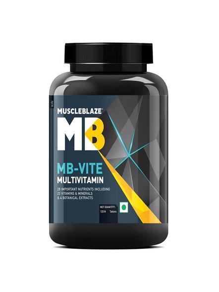Muscleblaze Vite Multivitamin Minerals And Multivitamins 120 Tab-1075