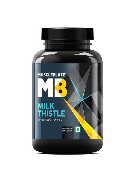 Muscleblaze Milk Thistle 60 Tab Minerials And Multivitamins-7599