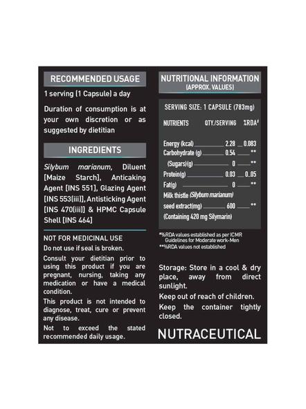 Muscleblaze Milk Thistle 60 Tab Minerials And Multivitamins-60 Tab-2