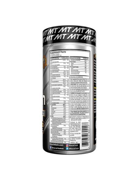 Muscletech Essential Series Platinum Multi Vitamin (18 Vitamins & Minerals, 865mg Amino Support) - 90 Tabs-NA-90 Cap-1