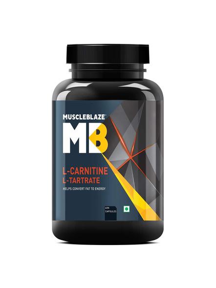 Muscleblaze L-carnitine L Tartrate Fat Burner 60 Cap-3041