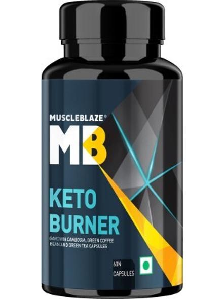 Muscleblaze Keto Burner 60 Caps Fat Burner-4790