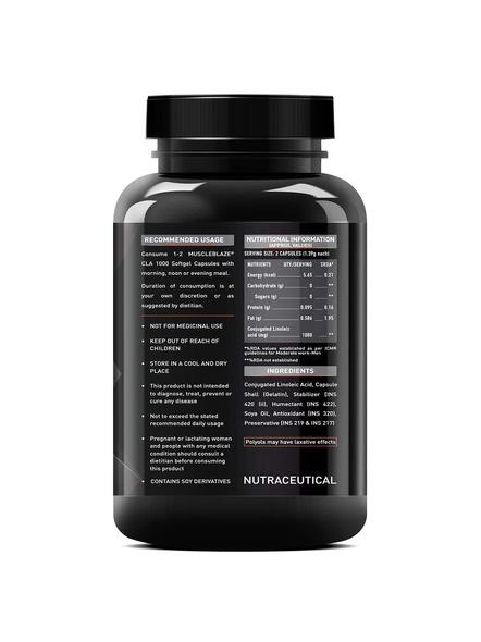 Muscleblaze Cla 1000, 90 Softgels Fat Burner-90 Cap-1