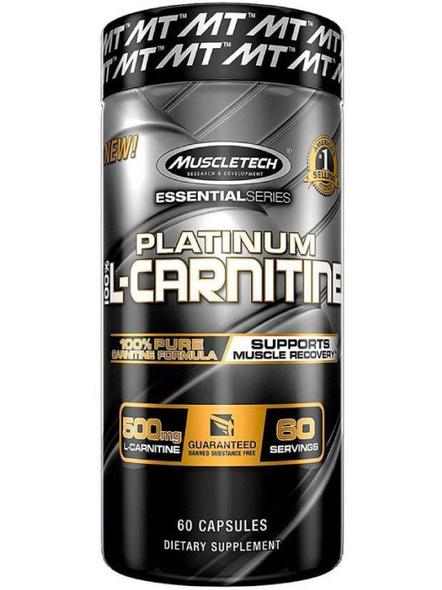 Muscletech Essential Series Platinum L-carnitine (60 Capsules)-1719