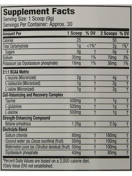Muscletech Performance Series Amino Build Next Gen (intra Workout, 0 Sugar, 1g Carbs) – 281 G (30 Servings)-ICY ROCKET FREEZE-281 g-2