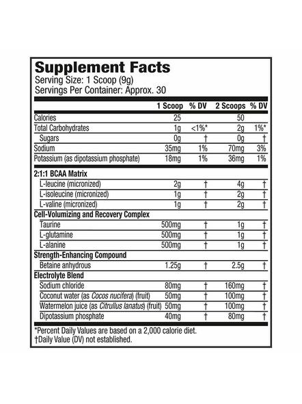Muscletech Performance Series Amino Build Next Gen (intra Workout, 0 Sugar, 1g Carbs) – 281 G (30 Servings)-FRUIT PUNCH-281 g-2
